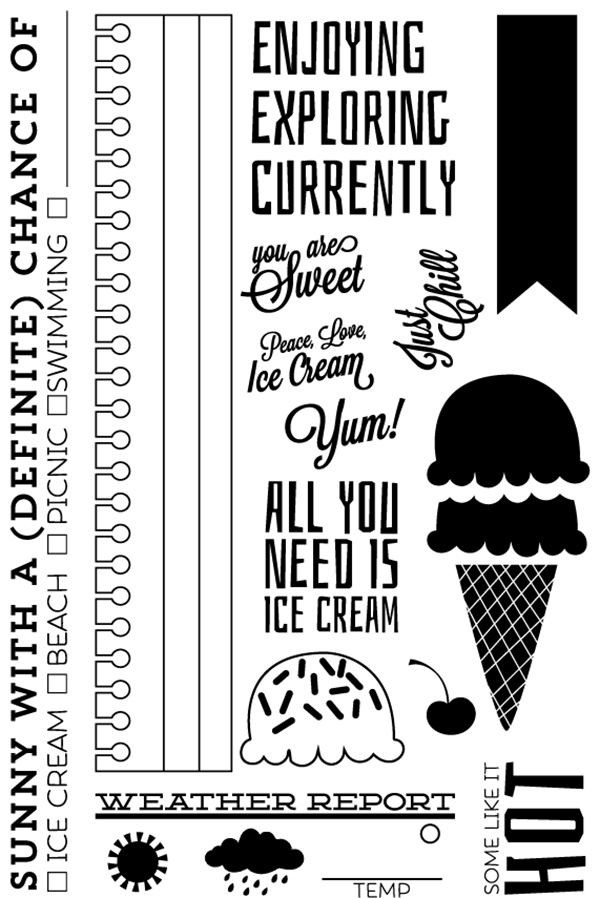 Scraptastic Summer Night Stamp preview